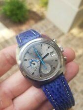 Omega Seamaster (176.001) GMT Chronograph Watch - Cal 1040 / Automatic, Vintage