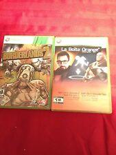 The Orange Box & Borderlands 2- Xbox 360- Great Games L@@K