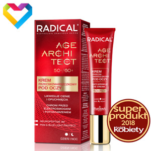 Farmona Radical AGE ARCHITECT Anti-Wrinkle Eye Cream 50 / 60+ Day & Night 15ml