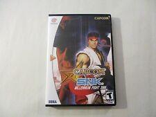 Capcom vs. SNK CUSTOM DREAMCAST CASE (***NO GAME***)
