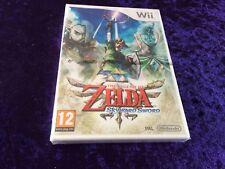 Nintendo Wii - Legend Of Zelda Skyward Sword - Factory Sealed NEW