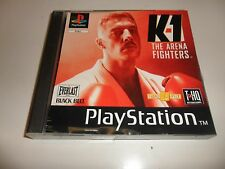 PLAYSTATION 1 PSX ps1 k-1 - The Arena Fighters (2)
