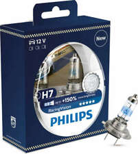 Philips H7 Racing Vision +150% Halogen  H7 12V 55W PX26d (Pair)