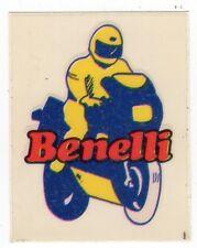 figurina STEMMA MOTOR SHOW BAGGIOLI 1986 NEW numero 15 BENELLI