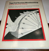 Tage Frid Teaches Woodworking, Shaping, Veneering, Finishing (1981)H/C D/J VG++