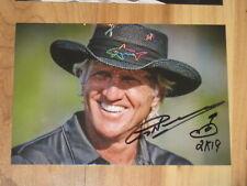Golfer GREG NORMAN Signed 4x6 Photo PGA GOLF AUTOGRAPH