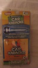 Car Karaoke Rand McNally Boredom Breakers Music CD V.1 With 12 Songs NEW t87