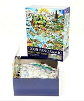 Charles Fazzino We Are The World 1000 PC Panoramic Jigsaw Puzzle 520536 Art