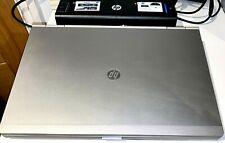 HP Elitebook 8470p Laptop I5-3320M / 12GB / 240GB SSD + 300GB HDD / Win10 + Dock
