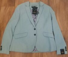 New *Next* (Size 20) Mint Green Blazer Tailoring Jacket