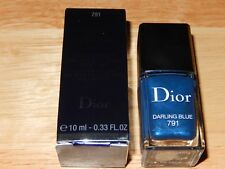 New Boxed Dior Haute Couleur effet gel nail polish 791 Darling blue