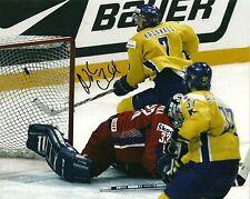 Niklas Kronwall Hand Signed 8x10 Photo Detroit Red Wings NHL