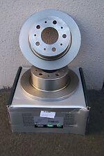REAR BRAKE DISC PAIR FIAT DUCATO SERIES II 2000kg PAYLOAD 51749555