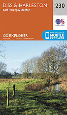 Diss & Harleston Explorer Map 230 Ordnance Survey