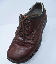Merrell WORLD LEADER EARTH BROWN LACE LEATHER 7 EU 40 TRAVELER SHOES