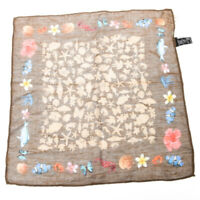 Tasca Quadrato Ruggine Beige Under The Sea Seta E Misto Lino Tr 145