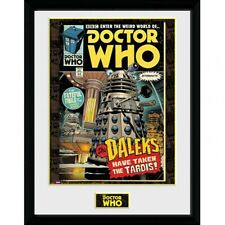"Doctor Who - 16"" x 12"" Framed Picture (COMIC)"