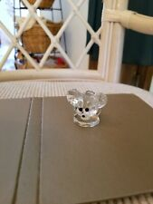 Decorative collectibles, Mouse, Crystal, made in Austria, silver tail.