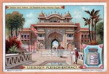 Elephant Rajah Rajah Residence India Indien c1905 Trade Ad Card