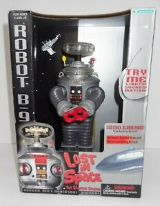 Lost in Space Robot B9 1997 Lights! Sounds! Motion!