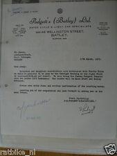 HT131- AUTOGRAPH D. PADGETT BATLEY LTD ,MICK GRANT,ROBINSON