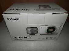 Canon EOS M10 DSLR Camera with 15-45mm IS STM Lens - Black-MINT