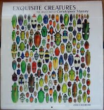 New Listing15 Exquisite Creatures Wall Calendars by Christopher Marley 2006-2020 Rare!