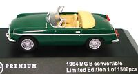 1:43 MGB 1964 - B.R.G. - BRAND NEW IN DISPLAY CASE