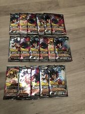 Lot 17 boosters Dragon Ball Super Card Game Colossal Warfare FR Neuf