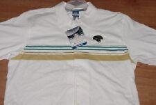 Jacksonville Jaguars Dress Polo Shirt 2XL Full Button Up Embroidered Reebok NFL
