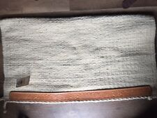 NEW Tuffy Brand Show Saddle Blanket with Tooled Leather Wears
