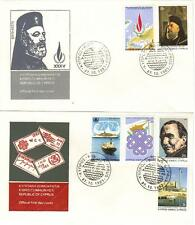 Cyprus FDC #612-617. 1983 (13636)aa