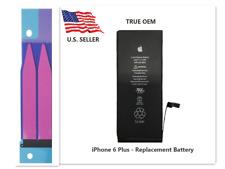 """Lot Of 10 Oem Genuine 2915mAh Battery Replacement iPhone 6 Plus 5.5"""" Adhesive"""