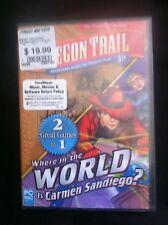 Oregon Trail 5th / Where World Carmen Sandiego (PC, 2011) *New,Sealed*