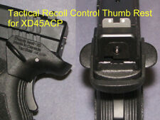 Recoil Control Thumb Rest for Springfield XD45 -  fit holster  #1760