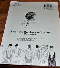 More details for marchioness grace of kedleston collection of clothes worn by lady curzon 1991
