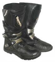 """"""" TRIUMPH """" Motorradstiefel / Biker- Stiefel / Boots in schwarz ca. Gr. 42,5"""