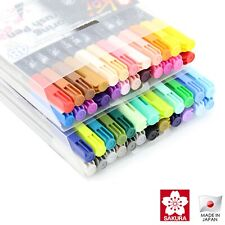Sakura Koi Colouring Brush 48 Colour Pen Set | Japan Lettering Calligraphy Pens