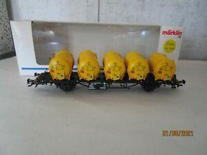 Marklin, HO, 48531, Flat Car w/ Load, OB.