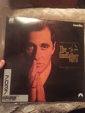 The Godfather Part III Laser Disc Laserdisc Used With Sleeve
