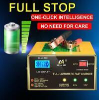 12V / 24V Chargeur intelligent chargeur de batterie voiture Portable Réparation