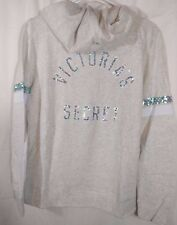 Victoria's Secret Supermodel Essentials Sequin Bling Angel Hoodie Medium NWT