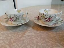 2 Booths Vintage Chinese Tree A8001 - Cups & Saucers very good condition