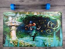 Magic The Gathering Growth Spiral Custom Seb Mckinnon MTG Playmat Free BestTube