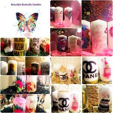 Hand crafted candles DIY fashion candles, Holiday themed.specialorder andmore