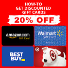 PDF GUIDE Get Amazon | Walmart | Target | Best Buy Gift Card 5-20% OFF🔥🔥🔥🔥🔥 For Sale