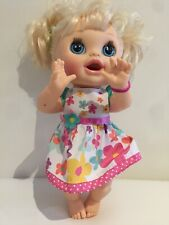 2012 Hasbro Baby Alive Spanish English Speaking Push Button Stomach Moving Head