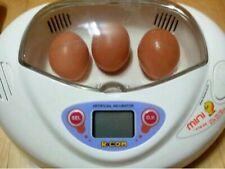 Rcom Mini Fully Automated Digital Incubators 7egg Tray Egg Brooder Hatchery