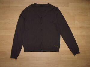 Calvin Klein Brown mens Cardigan size L