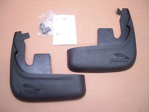 JAGUAR OEM 02-08 X-Type Front Mud Flap Set C2S33913